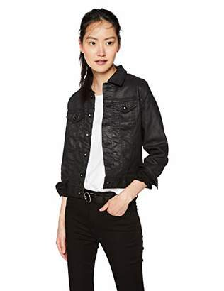 AG Adriano Goldschmied Women's Robyn Coated Denim Jacket