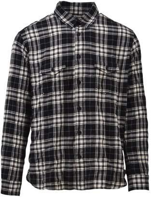 Saint Laurent Checkered Cotton Shirt
