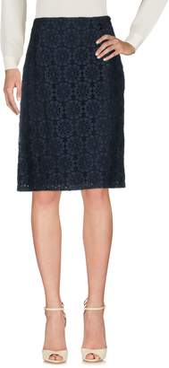 Roberta Scarpa Knee length skirts - Item 35367376