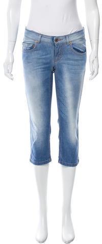 Dolce & GabbanaD&G Straight-Leg Mid-Rise Jeans