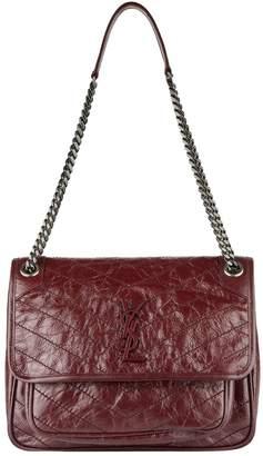 Saint Laurent Medium Leather Niki Shoulder Bag
