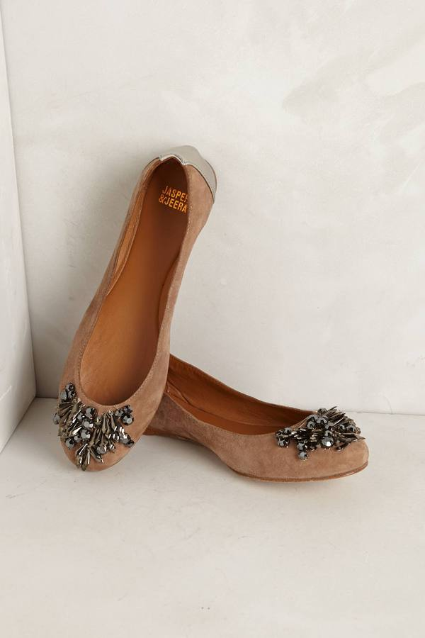 Anthropologie Bylinas Flats