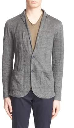 John Varvatos Collection Linen Blend Knit Blazer $648 thestylecure.com