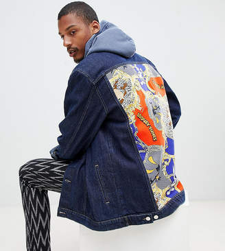Reclaimed Vintage x looney tunes denim jacket with back panel
