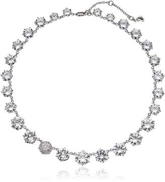 Betsey Johnson Betsey Blue Cubic Zirconia Stone Collar Necklace