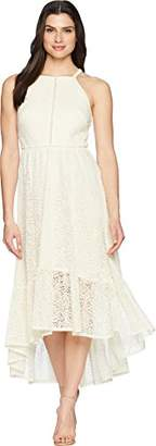 Vince Camuto Women's Lace Halter Maxi Dress