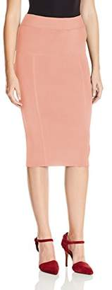 KENDALL + KYLIE Women's Paneled Pencil Skirt