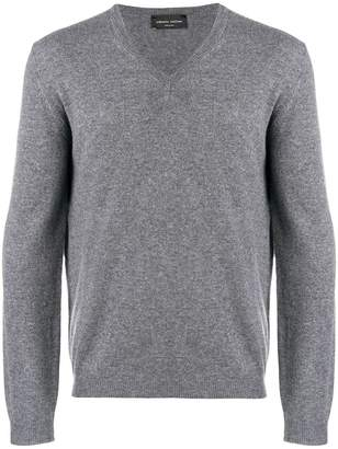 Roberto Collina fine knit V-neck sweater