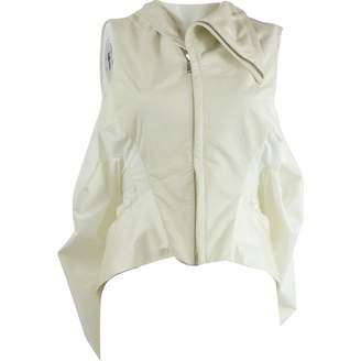 Rick Owens White Leather Tops