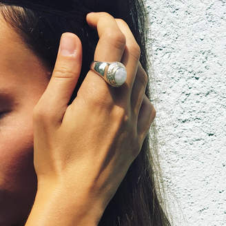 Wanderlust Puck Moonstone Power Ring