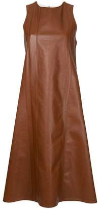 DAY Birger et Mikkelsen Ribeyron leather A-line dress