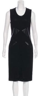 Chanel Tweed Midi Dress