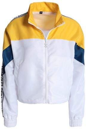 Color-Block Shell Jacket
