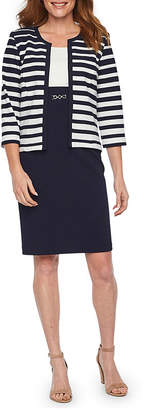 Studio 1 Sleeveless Jacket Dress