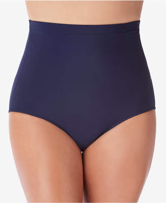 Swim Solutions Ultra High-Waist Swim Bottoms Women's Swimsuit