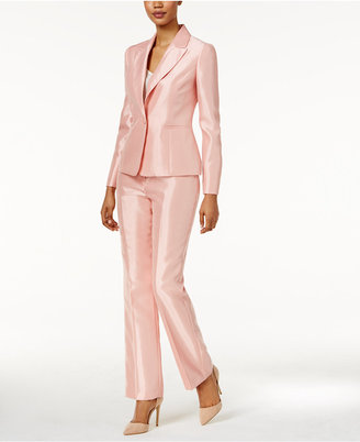 Le Suit Shimmer Pantsuit $200 thestylecure.com