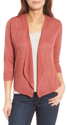 Women's Nic+Zoe All Day Linen Blend Cardigan $108 thestylecure.com