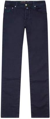 Jacob Cohen Slim Fit Denim Sweatpants