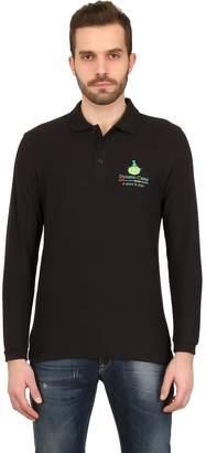 Dynamo Camp Long Sleeved Cotton Pique Polo Shirt