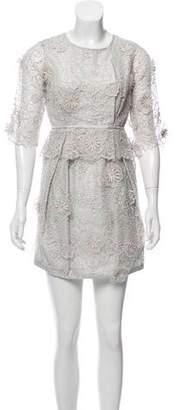 Stella McCartney Guipure Lace Mini Dress