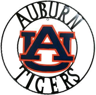 Auburn Tigers 18-Inch Wrought Iron Wall Decor