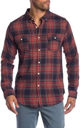 Ezekiel Maverick Plaid Long Sleeve Regular Fit Shirt