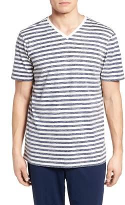 Daniel Buchler Reverse Stripe T-Shirt