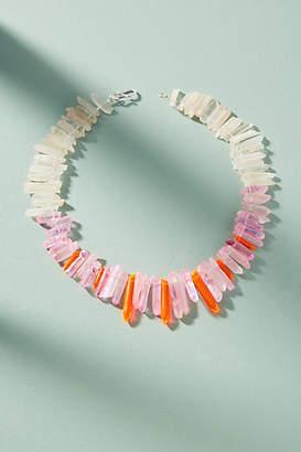 Tina Lilienthal Tropical Quartz Bib Necklace