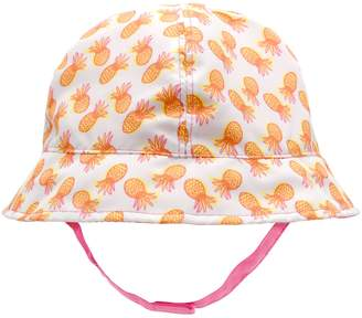 Gold Bug Baby / Toddler Pineapple Reversible Bucket Hat