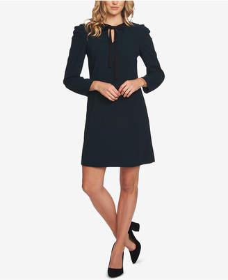 CeCe Front-Tie A-Line Dress