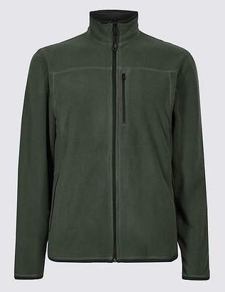 """Marks and Spencer Funnel Neck Fleece Jacket with Stormwearâ""""¢"""