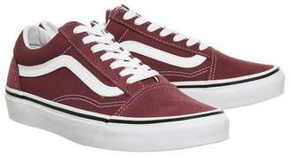 At Top Vans Supplied By Office Old Skool Trainers