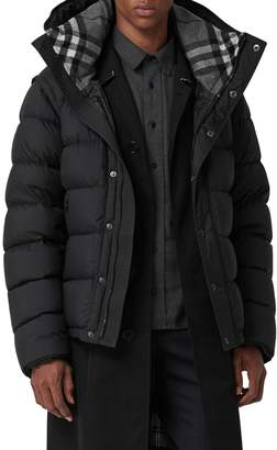 Burberry Hartley Hybrid Jacket with Detachable Sleeves