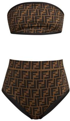 740ceee849 Fendi Ff High Rise Bikini Set - Womens - Black Multi