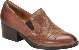 Sofft Leather Slip On Loafers - Velina