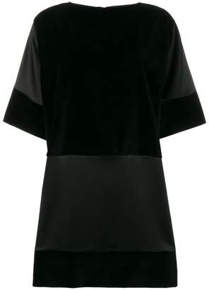 Gianluca Capannolo contrast panel dress