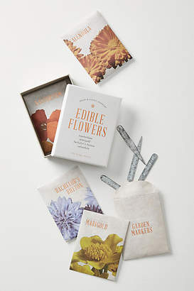 The Floral Society Edible Flowers Grow Kit