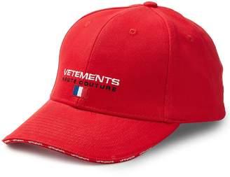 Vetements Haute Couture Logo Cap - Red