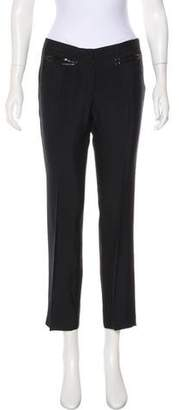 CNC Costume National Mid-Rise Straight-Leg Pants