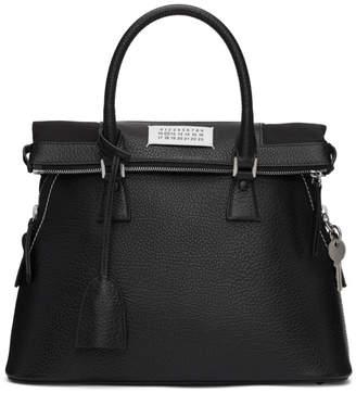 Maison Margiela Black Leather Eco Sustainable Bag