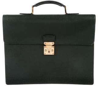 Louis Vuitton Taïga Serviette Kourad Briefcase