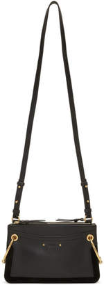 Chloé Black Mini Roy Double Zip Bag