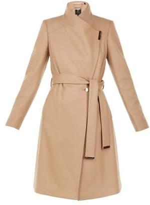Next Womens Ted Baker Short Wool Rich Wrap Coat