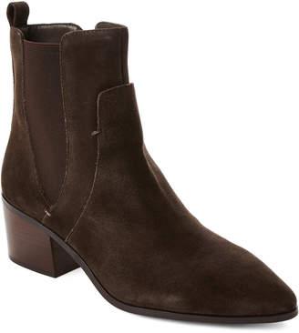 Tahari Dark Java Resist Suede Boots