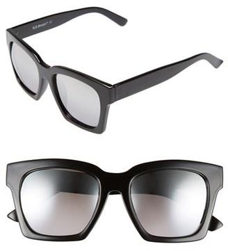 A.J. Morgan 'Knock' 50mm Sunglasses $24 thestylecure.com
