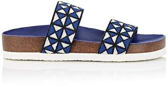 Tory Sport Women's Mosaic Elastic Double-Band Sandals
