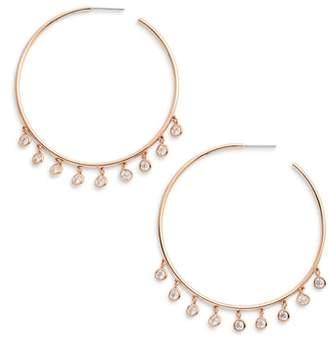 Nadri Shaker Hoop Earrings