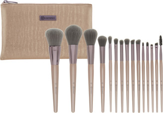 Bh Cosmetics Online Only Lavish Elegance - 15 Pc Brush Set With Cosmetic Bag