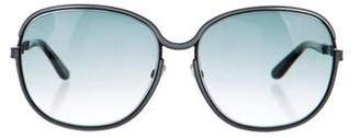 Tom Ford Tinted Delphine Sunglasses