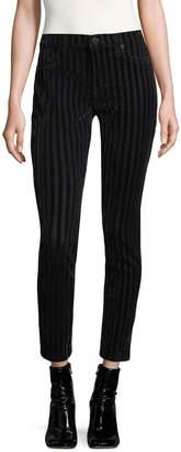 Hudson Women's Nico Striped Cotton Jeans